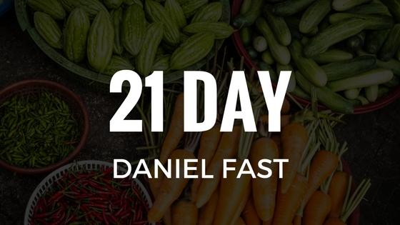2018 Daniel Fast